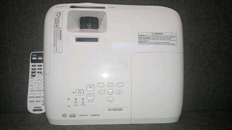 Мультимедийный 3D проектор Epson EH-TW5300 - Фото 4
