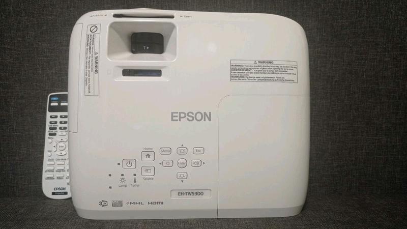 Мультимедийный 3D проектор Epson EH-TW5300 - Фото 2