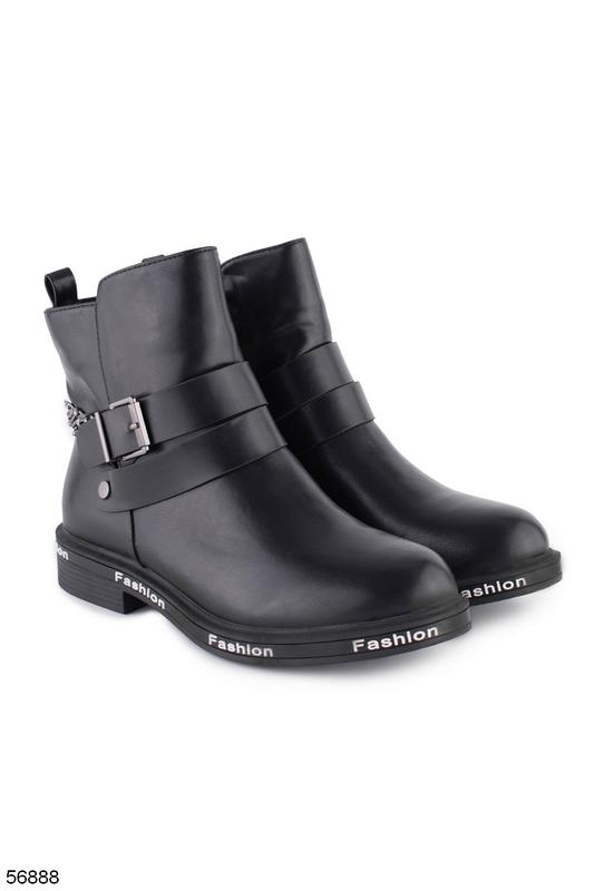 Женские кожаные ботинки - Фото 2