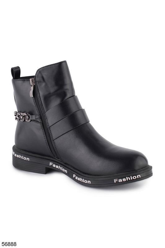 Женские кожаные ботинки - Фото 3
