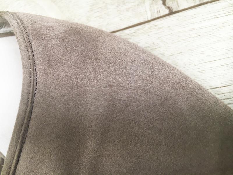 Туфли балетки женские 24.5см натур.замша кожа - Фото 6