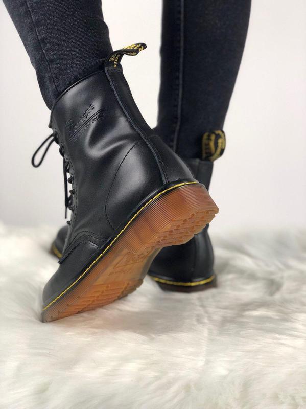 Мужские ботинки 🔺dr martens 1460 black🔺демисезон - Фото 2