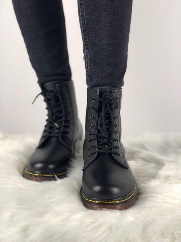 Мужские ботинки 🔺dr martens 1460 black🔺демисезон - Фото 3