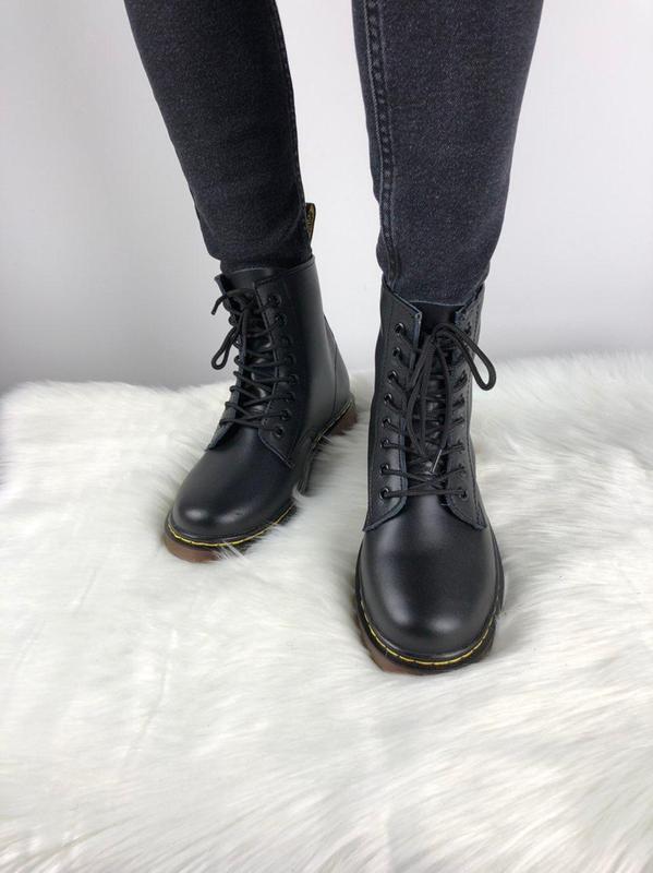 Мужские ботинки 🔺dr martens 1460 black🔺демисезон - Фото 4