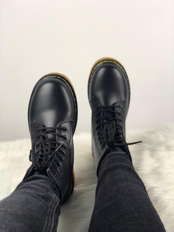 Мужские ботинки 🔺dr martens 1460 black🔺демисезон - Фото 5