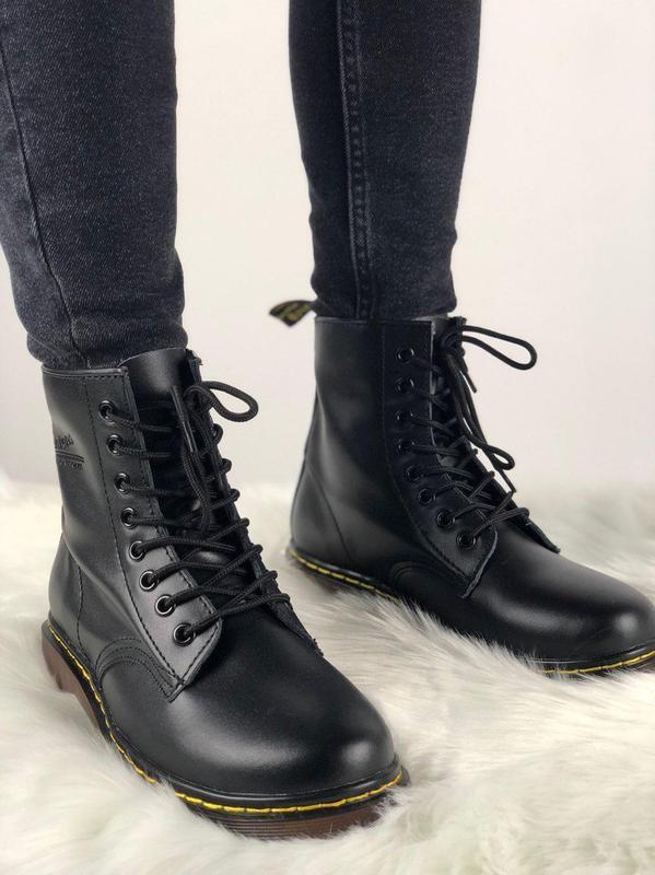 Мужские ботинки 🔺dr martens 1460 black🔺демисезон - Фото 6