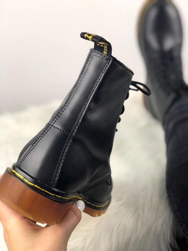 Мужские ботинки 🔺dr martens 1460 black🔺демисезон - Фото 8
