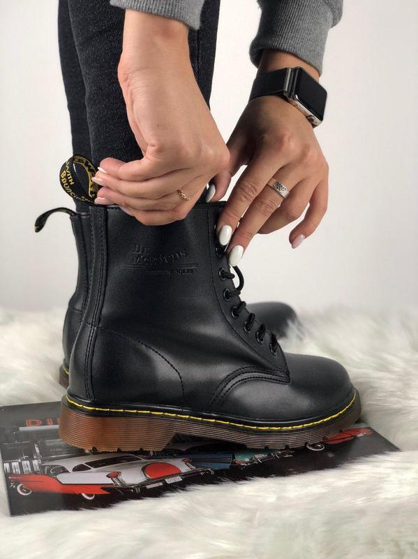 Мужские ботинки 🔺dr martens 1460 black🔺демисезон - Фото 9