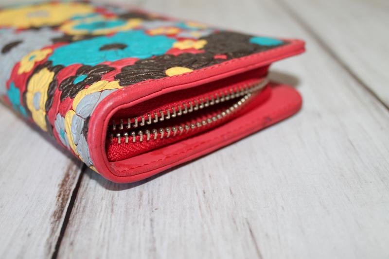 Шикарный кожаный кошелек enbery 100% натуральная кожа - Фото 4