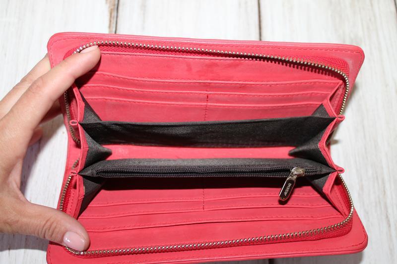 Шикарный кожаный кошелек enbery 100% натуральная кожа - Фото 5