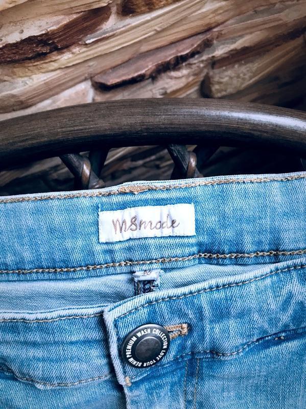 Крутые джинсовые шорты с высокой посадкой мом  бангладеш - Фото 9
