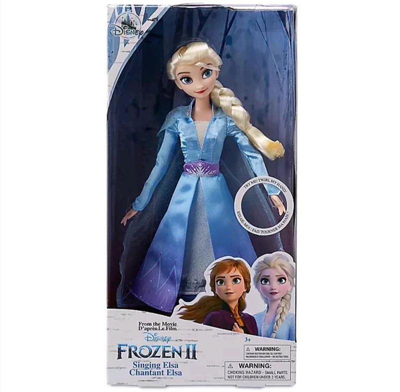 Поющая кукла Эльза - Холодное сердце-2 - Frozen-2, Disney