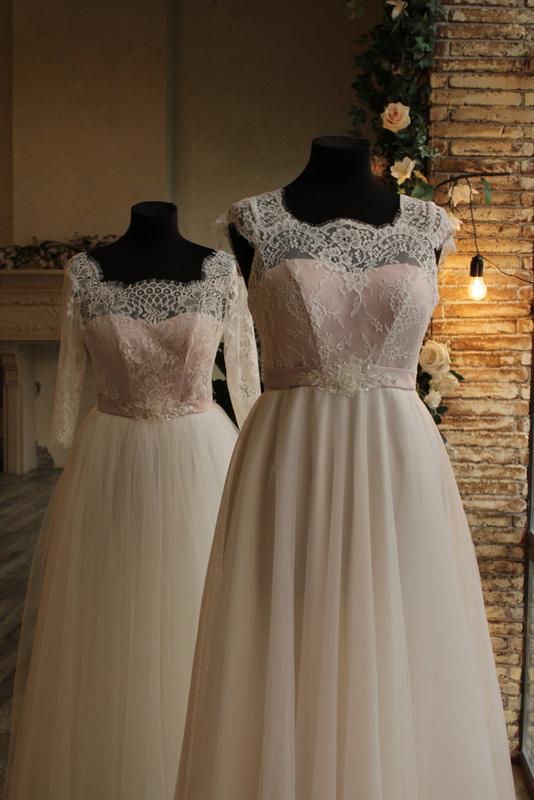 Свадебное платье с завышенной талией, для беременных невест и обы