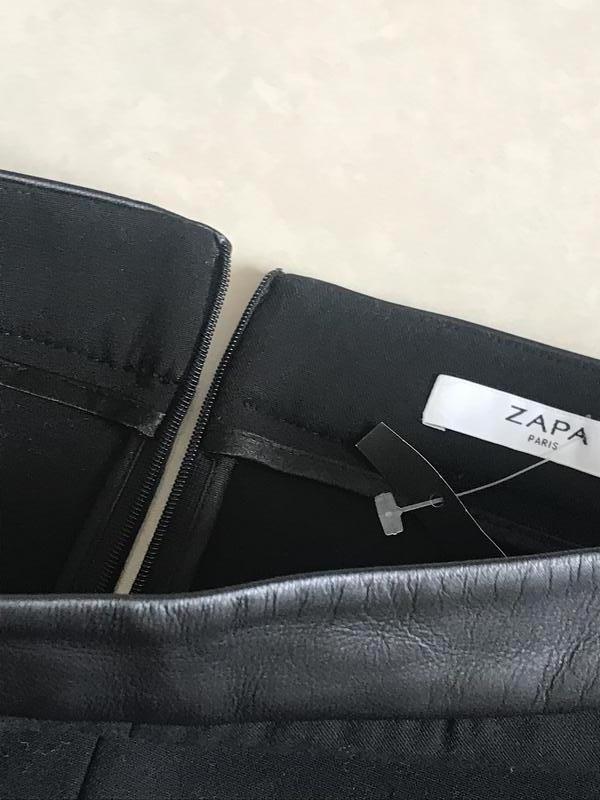 Юбка миди стильный модный дорогой бренд zapa paris размер 36 и... - Фото 4