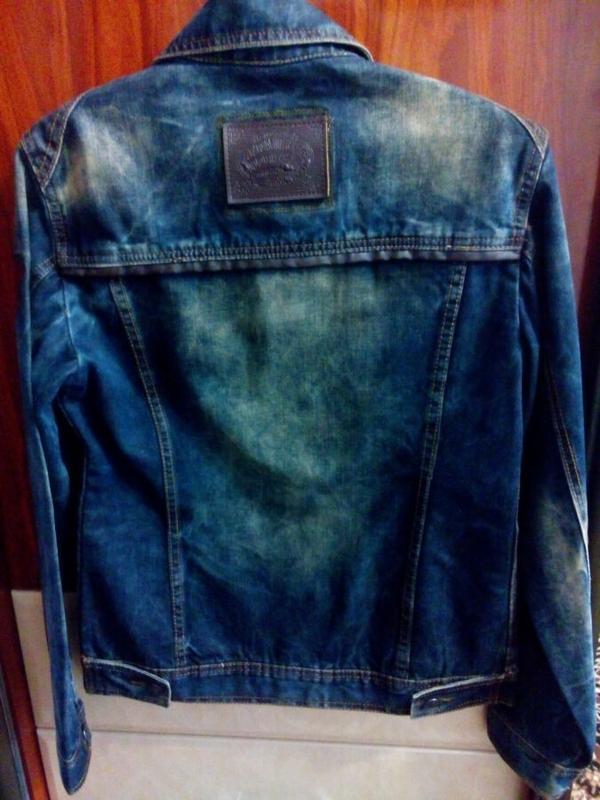Джинсовая модная куртка - Фото 2