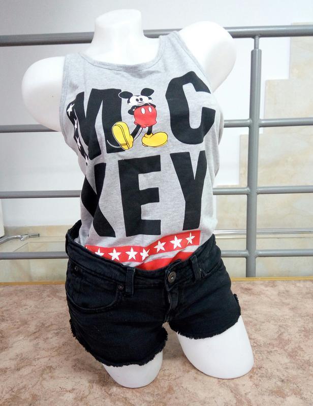 🔥 обвал цен 🔥актуальные сексуальные черные рваные джинсовые шо... - Фото 2