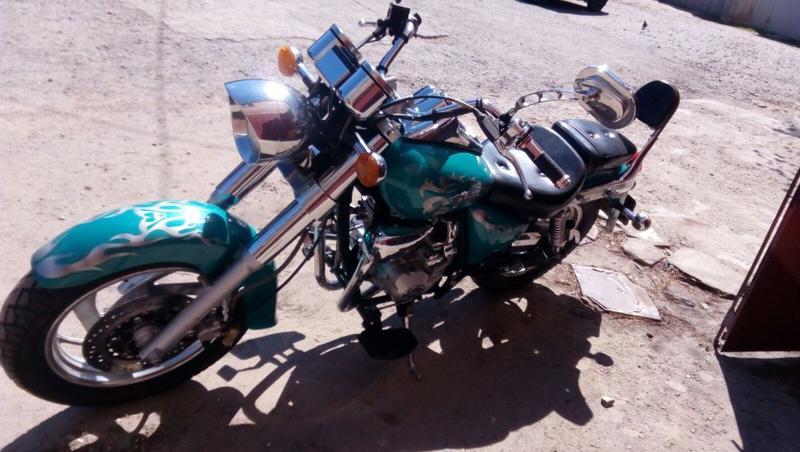 Мотоцикл RF 150 - Фото 5