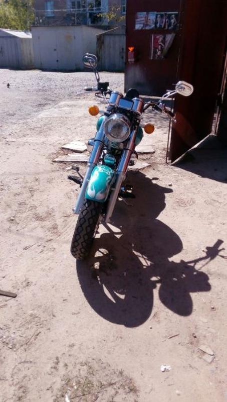 Мотоцикл RF 150 - Фото 6