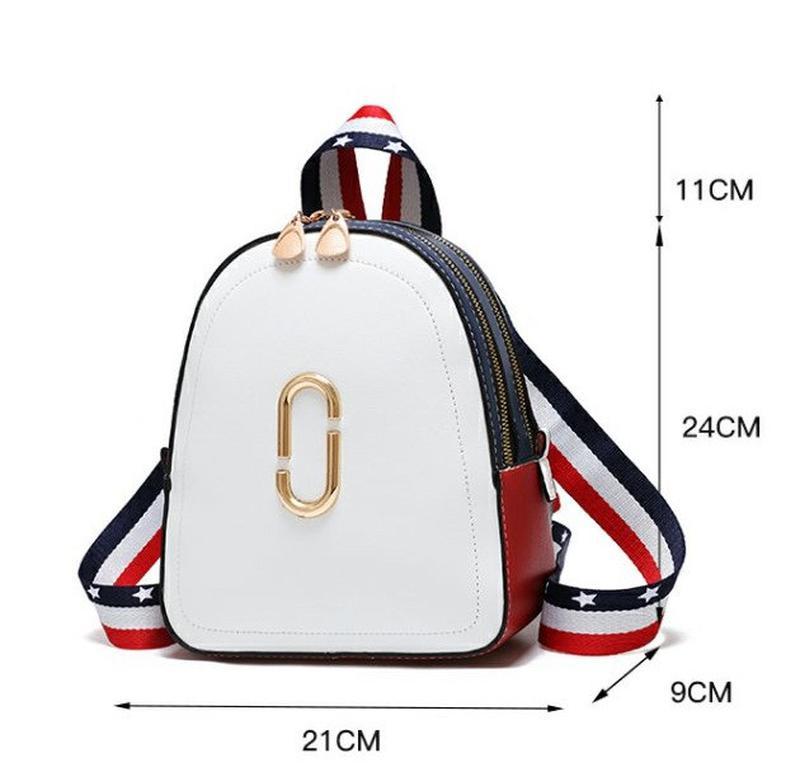 Стильный женский мини рюкзак - Фото 2