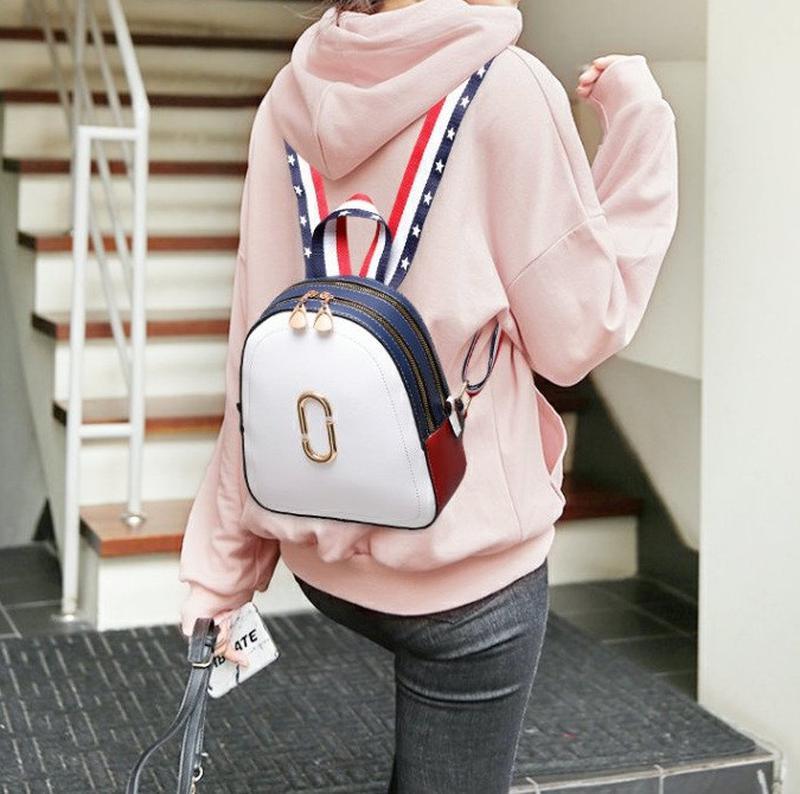 Стильный женский мини рюкзак - Фото 6