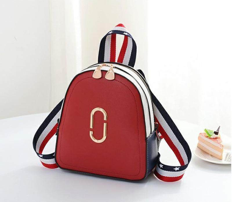 Стильный женский мини рюкзак - Фото 3