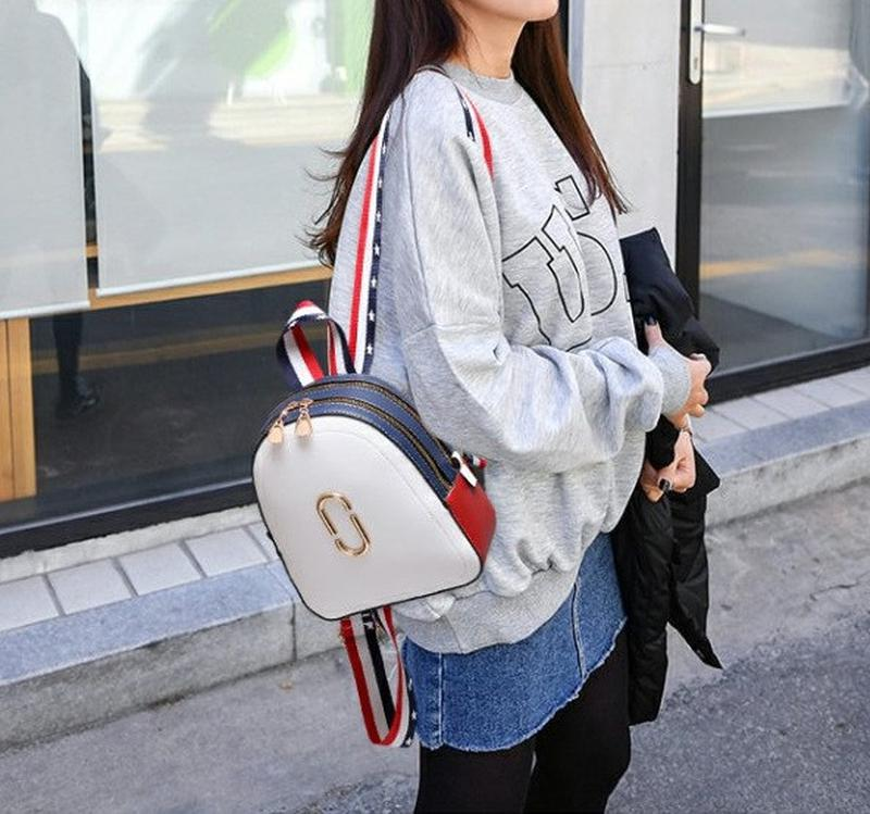 Стильный женский мини рюкзак - Фото 4