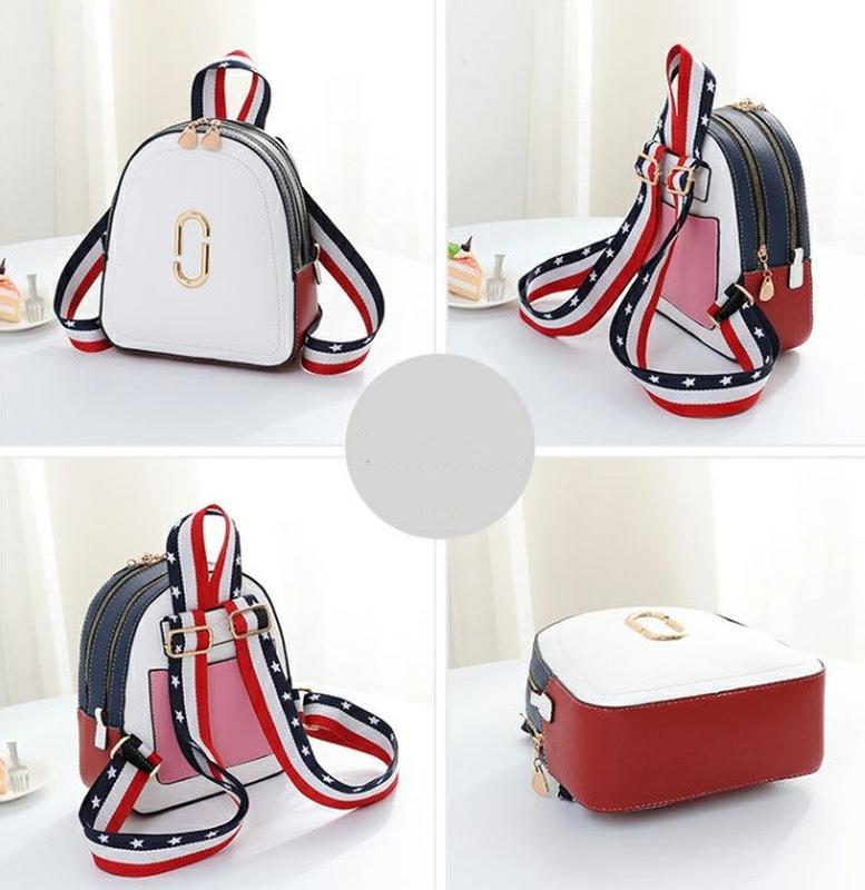 Стильный женский мини рюкзак - Фото 8