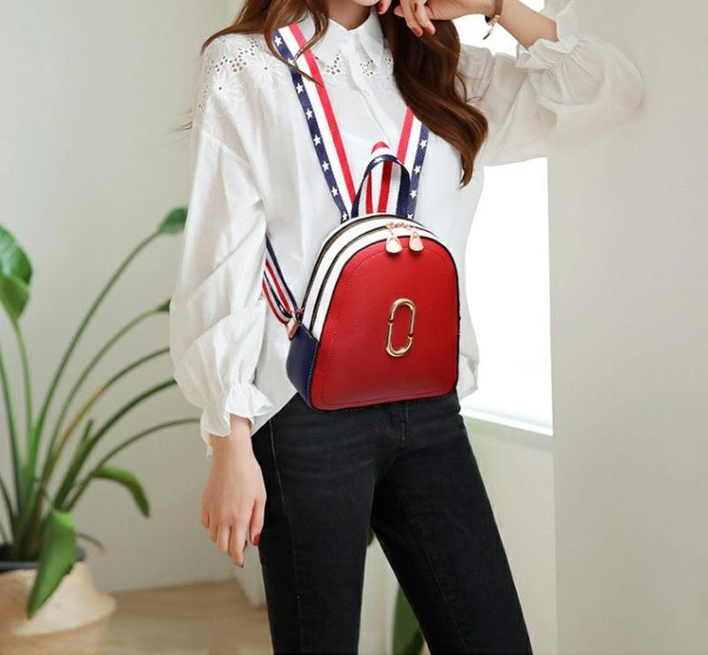 Стильный женский мини рюкзак - Фото 5