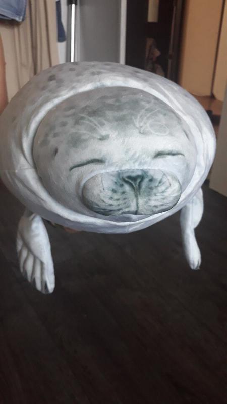 3D тюлень плюшевая игрушка ( подушка ) - Фото 3