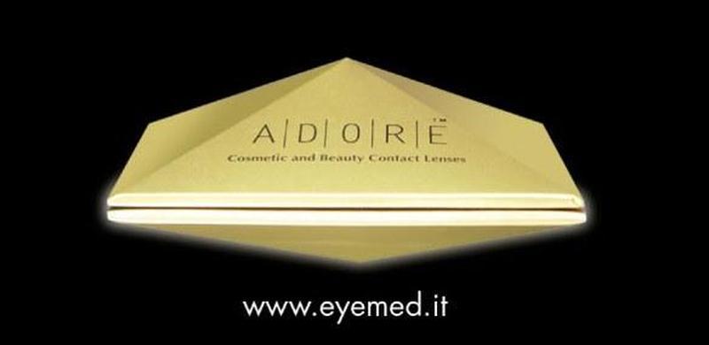 Итальянские цветные контактные линзы ADORE Bi-Green - Фото 2