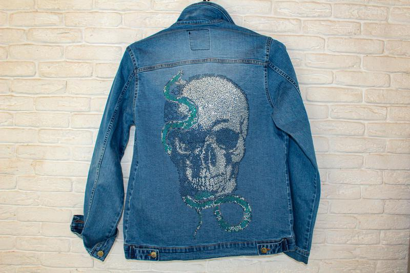 Джинсовая куртка мужская. Распродажа