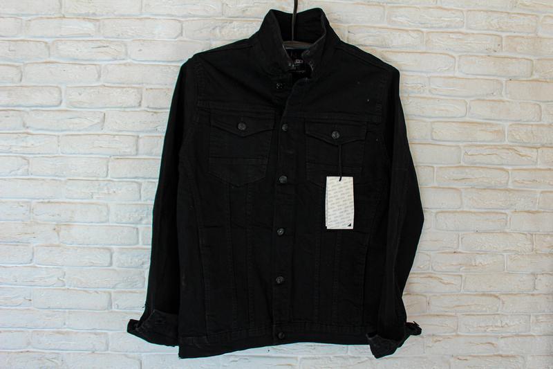 Джинсовая куртка мужская. Распродажа - Фото 2