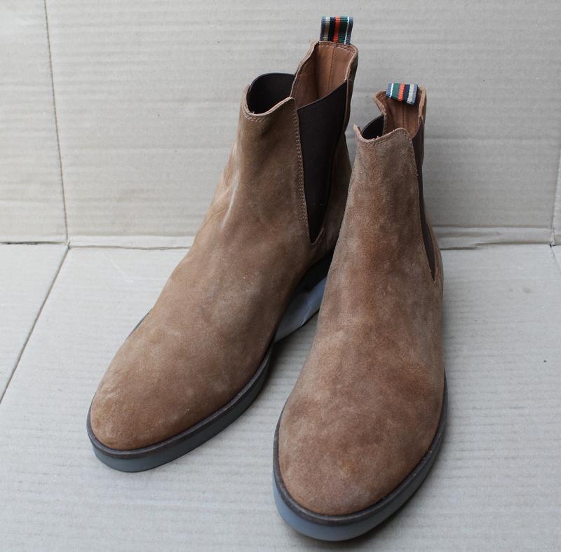 Ботинки mexx оригінал натуральна замша