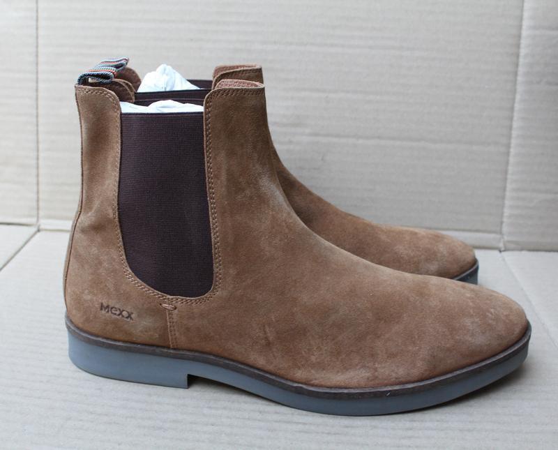 Ботинки mexx оригінал натуральна замша - Фото 3