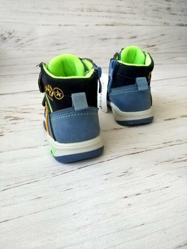 Демисезонные ботинки для мальчиков bessky - Фото 4
