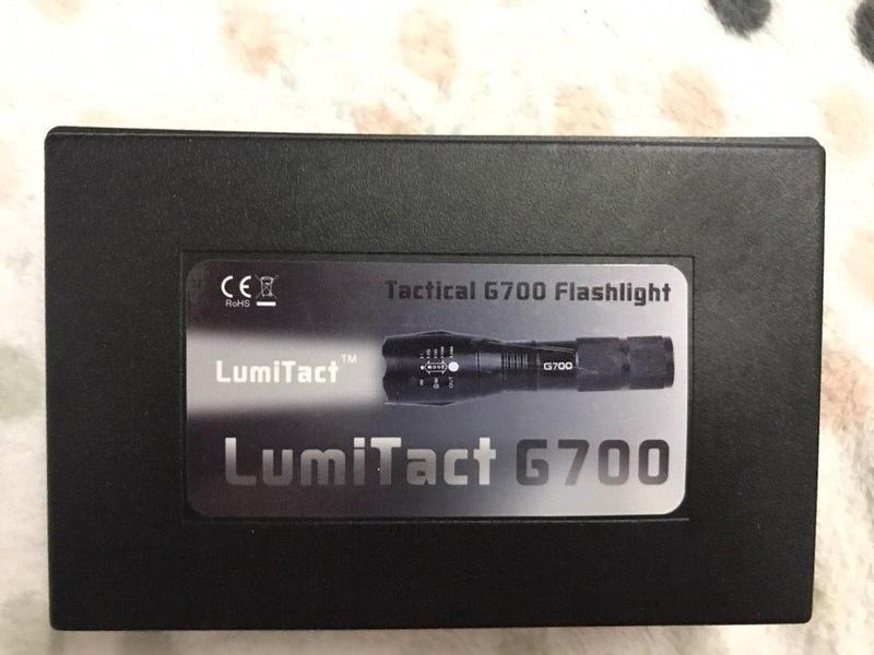 LumiTact Tactical G700 фонарік фонарь