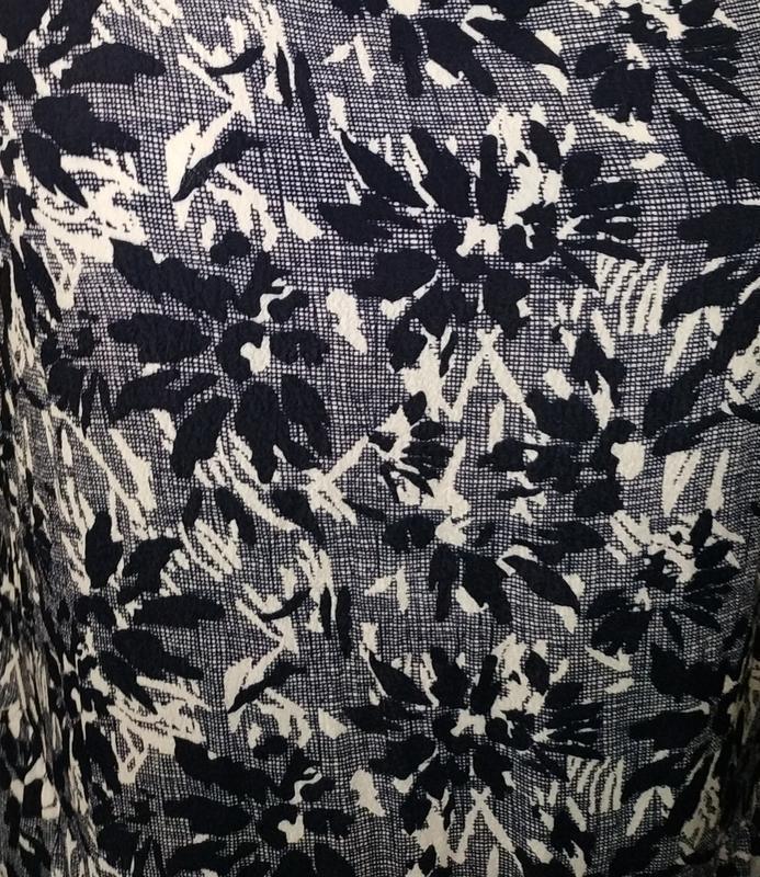 Платье миди натуральное в гобеленовый принт john lewis uk 12/40/m - Фото 5