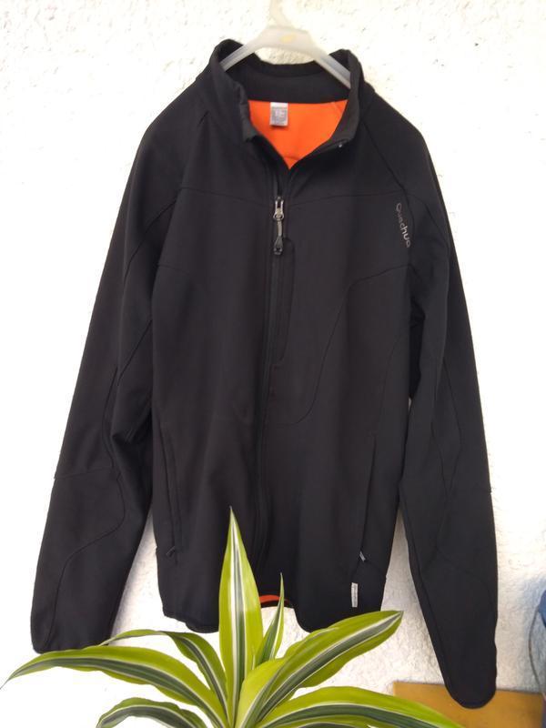 Куртка quechua stratermic мужская m ветровка деми флис термо