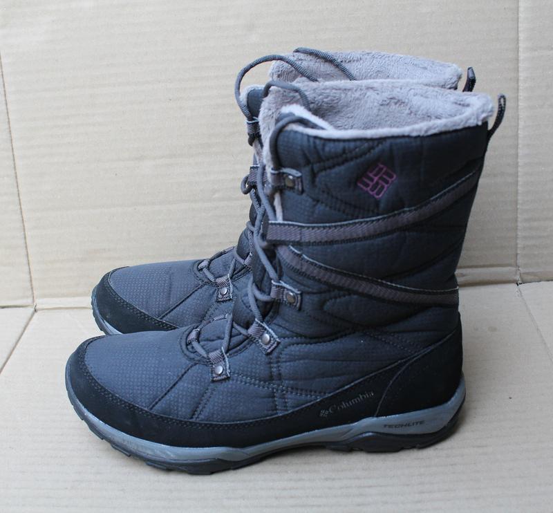 Полусапоги columbia mid boots minx fire tall omni-heat waterpr... - Фото 2