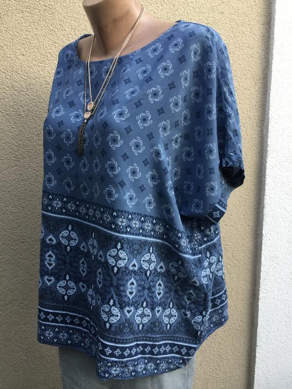 Хлопок, блуза,рубаха,вискоза,большой размер,этно,бохо стиль, - Фото 4
