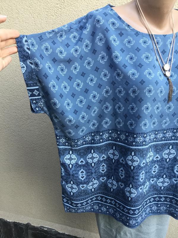 Хлопок, блуза,рубаха,вискоза,большой размер,этно,бохо стиль, - Фото 5