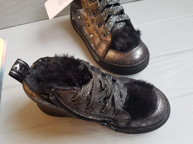 Ботинки для девочки  томм - Фото 3