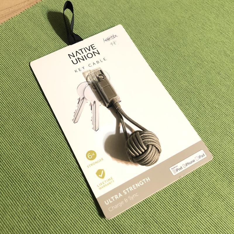 Кабель usb native union key cable lightning taupe {key-kv-l-tau} - Фото 5