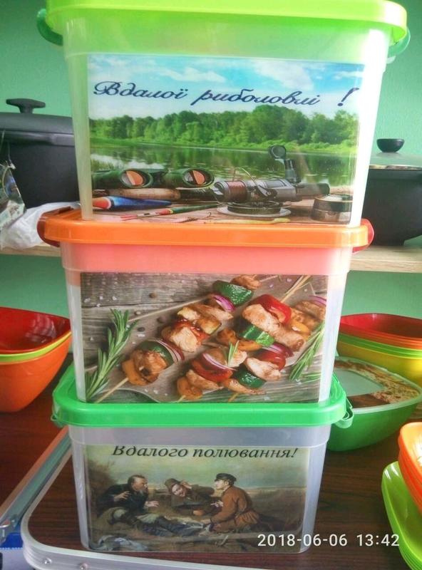 Набор посуды для пикника на 6 персон. - Фото 3