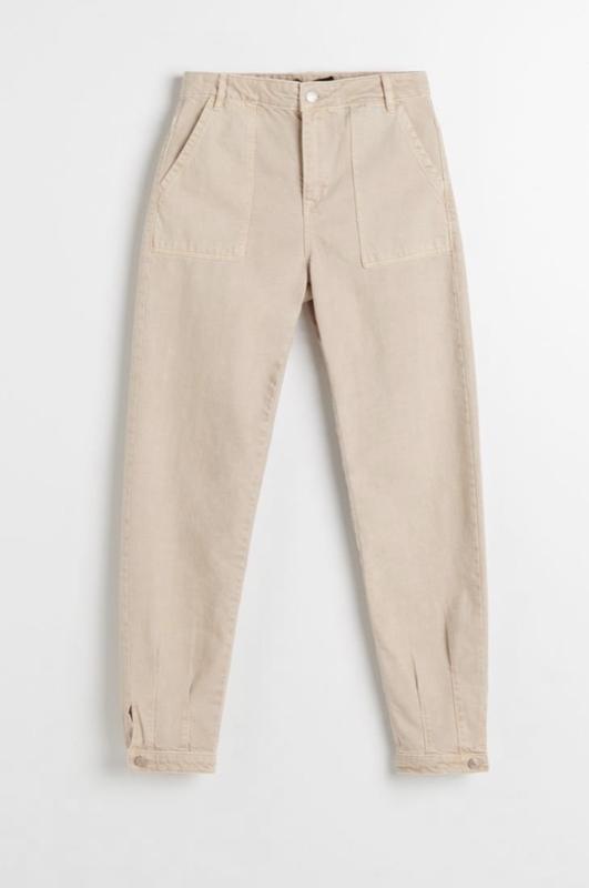 Джинсы бежевые , прямые джинсы. джинсы на высокой талии баллон...