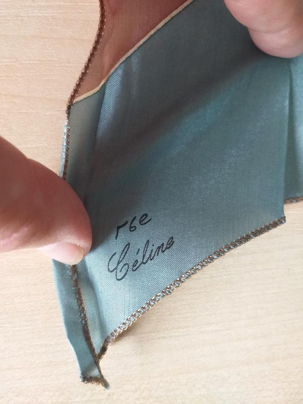 Подписная шелковая лента твилли