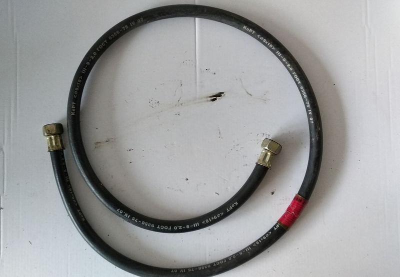 Шланг газовый 1,5 метра