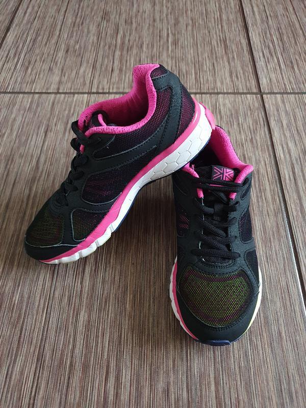 Яркие,  стильные, красивые кроссовки для девочки от karrimor - Фото 2