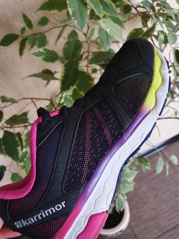 Яркие,  стильные, красивые кроссовки для девочки от karrimor - Фото 9