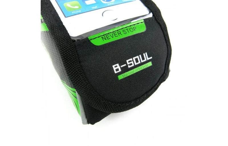 """Сумка B-Soul на раму под смартфон 6.0"""" - Фото 4"""